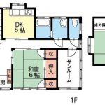 辰野町 伊那富 中古売住宅 1,050万円