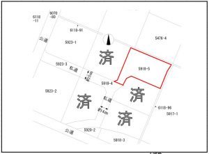 伊那市 中央 5区画分譲地 592万円