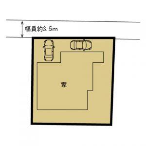 伊那市 美篶(上原)中古売住宅 1,199万円
