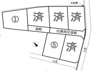 南箕輪村 田畑 6区画分譲地 525~625万円