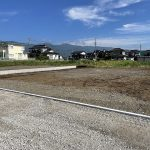 箕輪町 木下 5区画分譲地 580万円